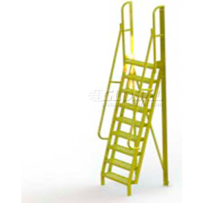 "9 Step 75° Incline Ladder - 24""W Grip Strut - UCL7509242"
