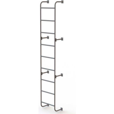 "9 Step Steel Dock Ladder, Side-Step, 18""W x 108""H - WLS5SS"