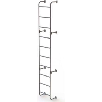"10 Step Steel Dock Ladder, Side-Step, 18""W x 120""H - WLS6SS"