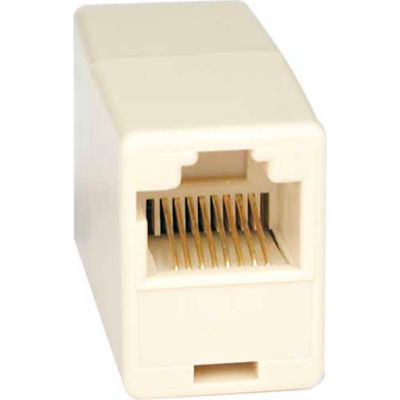 Tripp Lite Telephone Straight Through Modular In-Line Coupler (RJ45 F/F)
