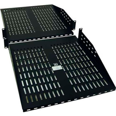 Tripp Lite 2U SmartRack Cantilever Double-Sided Fixed Shelf, 60 lb. Capacity Each Side