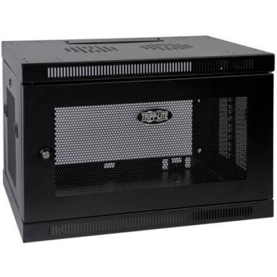 Tripp Lite 9U SmartRack Switch-Depth Wall-Mount Rack Enclosure Cabinet