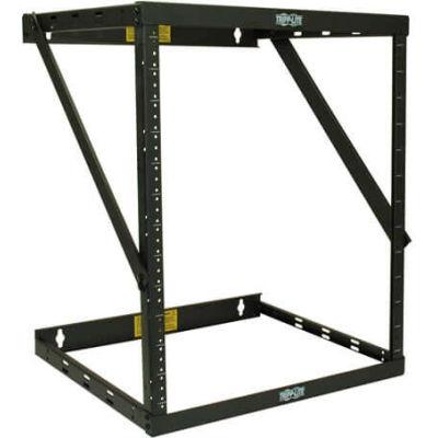 Tripp Lite 12U SmartRack Heavy-Duty Switch-Depth Wall-Mount 2-Post Open Frame Rack