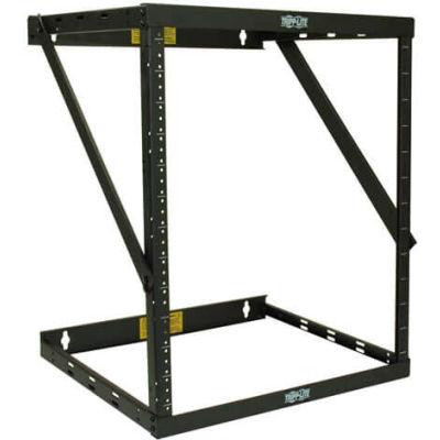 Tripp Lite 8U/12U/22U Expandable SmartRack Switch-Depth Wall-Mount 2-Post Open Frame Rack
