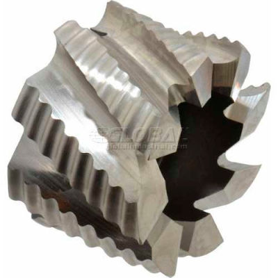 """Import Right Hand Shell End Mill Roughing 2-1/2"""" Dia x 1"""" Hole x 1-5/8"""" Flute Cobalt"""