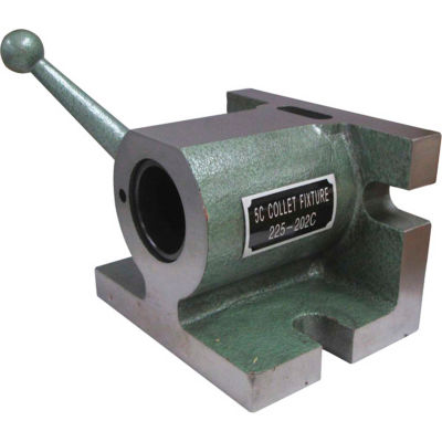 Import Cam Operated 5C Horizontal/Vertical Collet Fixture