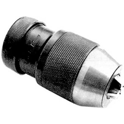 "Cushman 1/32-1/2"" Heavy Duty Precision Keyless Drill Chuck, R8 Integrated"
