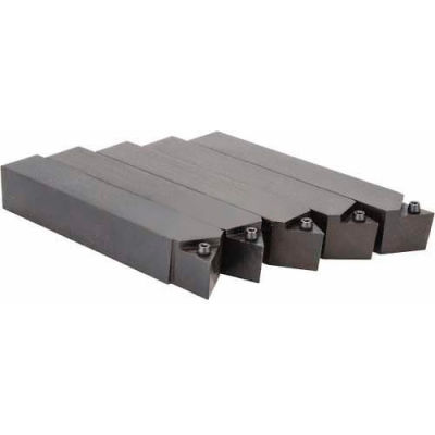 "Import Square Shoulder Turning Indexable Tool Bits AL-10 Style 5/8"" Square 3/8"" Insert I.C."