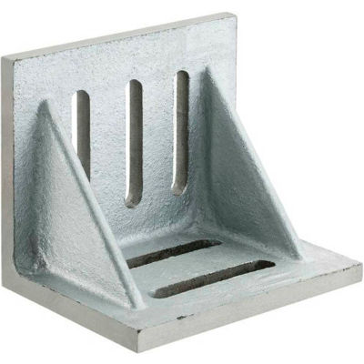 "Imported Slotted Angle Plates - Webbed End - Ground Finish 12"" x 9"" x 8"""