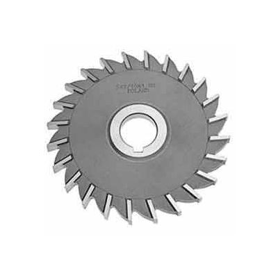 """Made in USA HSS Straight Tooth Side Milling Cutter 3-1/2"""" Dia X 3/16"""" Width 1"""" Arbor"""