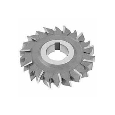 """Made in USA Cobalt Staggered Tooth Side Milling Cutter 5"""" Dia X 5/16"""" Width 1"""" Arbor"""