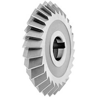 """Made in USA 90° Double Angle Arbor Style Milling Cutter 2-3/4"""" Dia x 1/2"""" Width x 1"""" Hole"""