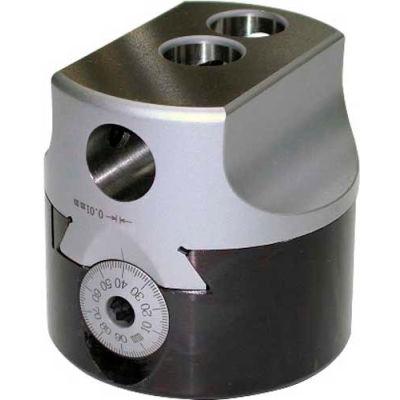 "APT Precision Boring Heads 2-1/2"", R-8  Integrated Straight Shank, 1/2"" Max Tool Cap"