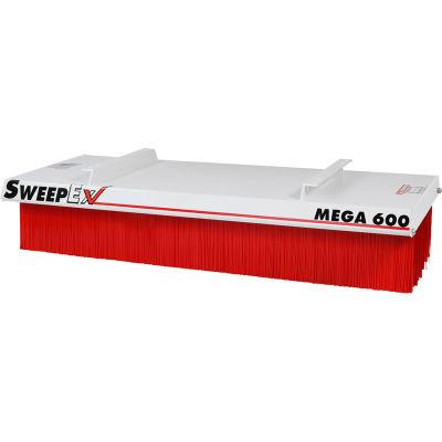 "SweepEx® Mega Broom Forklift Broom & Sweeper 60""W"
