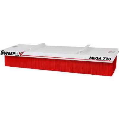 "SweepEx® Mega Broom Forklift Broom & Sweeper 72""W"