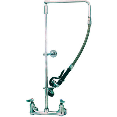 T&S Brass B-0131-B Pre-Rinse Unit With Wall Mount Faucet & Wall Bracket