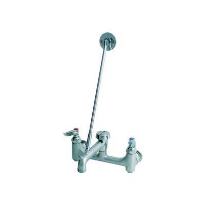 T&S Brass B-0665-BSTR Rough Chrome Service Sink Faucet