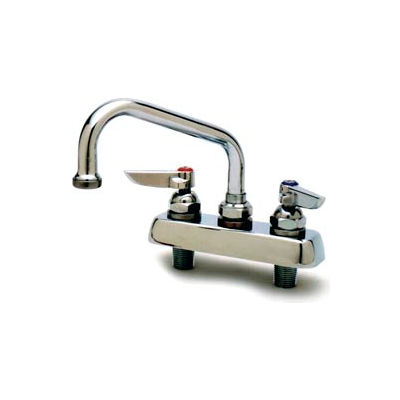 "T&S Brass B-1112 Workboard Faucet - 10"" Nozzle"
