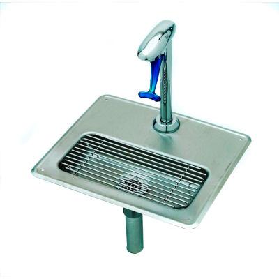 T&S Brass B-1230 B-1230 Water Station w/ Pedestal Type Glass Filler, Steel Drip Pan