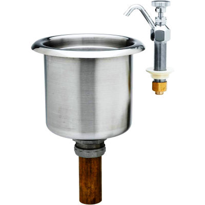 T&S Brass B-2338 Pre-Rinse Unit With Deck Mount Faucet
