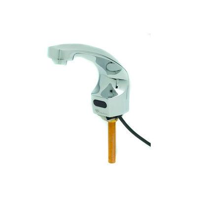T&S® EC-3102 ChekPoint Electronic Sensor Faucet, Deck Mount, Single Hole, 2.2 GPM, Chrome