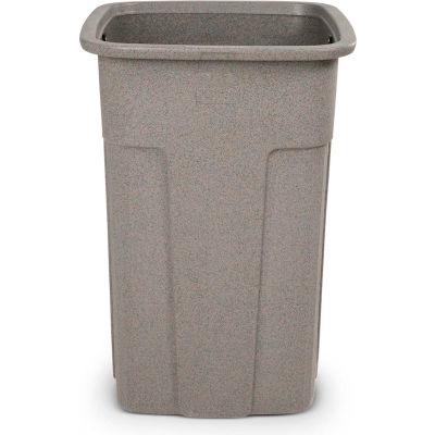 Toter Slimline Trash Can, 50 Gallon, Greystone