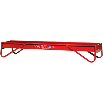 Tarter 10-ft. Metal Grain Feeder, Red