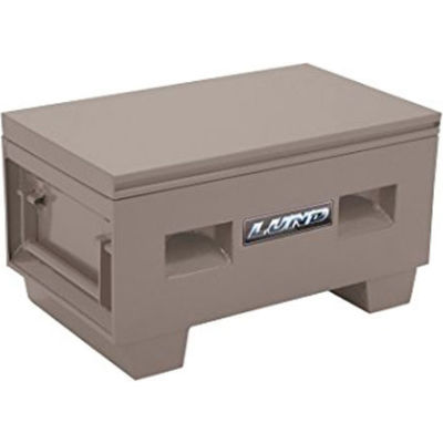 "Lund 08060Y Heavy-Duty Large 60"" Yellow Steel Job Site Box"