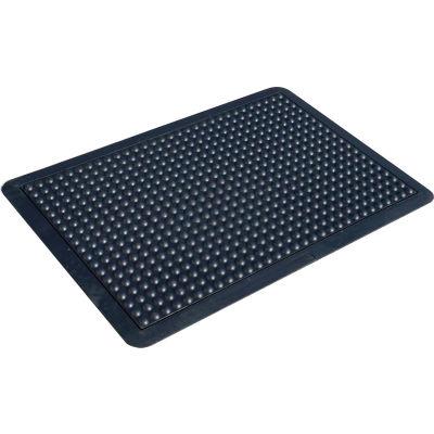 "Transforming Technologies FM5 ComfortDome ESD Anti-Fatigue Mat, 1"" Thick, 2' x 3', Black, FM52X3"