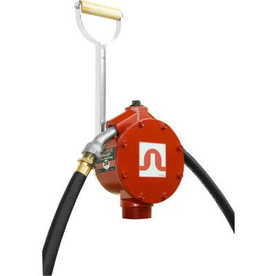 "Fill-Rite FR152, Hand Piston Pump w/ 20"" Steel Telescoping Suction Pipe, 20 Gallons per 100 strokes"
