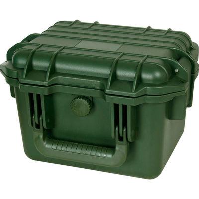 """TZ Case Cape Buffalo Waterproof Utility Case CB-009-GRN - 11-3/4""""L x 9-3/4""""W x 7-3/4""""H Green"""
