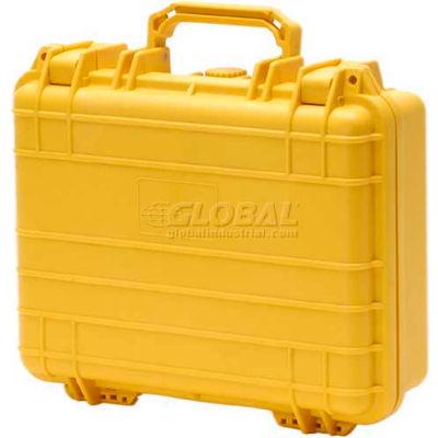 "Cape Buffalo Waterproof Utility Cases, Medium Case, 12""L x 9""W x 4-1/2""H, Yellow"