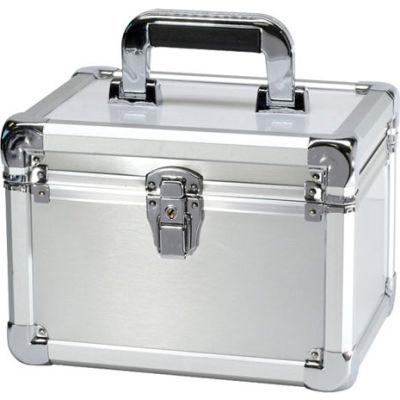 """TZ Case Executive Aluminum Storage Case EXC-110-S - 11""""L x 8-1/2""""W x 7-3/4""""H Silver"""