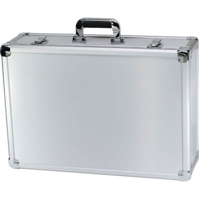 "TZ Case Executive Aluminum Storage Case EXC-122-S - 23""L x 16""W x 7-3/8""H Silver"