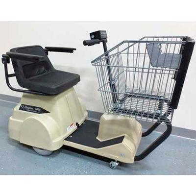 Electro Kinetic Technologies EZ-Shopper Electric Grocery Cart EZS-1772-8000-TNA Tan 750 Lb. Cap.