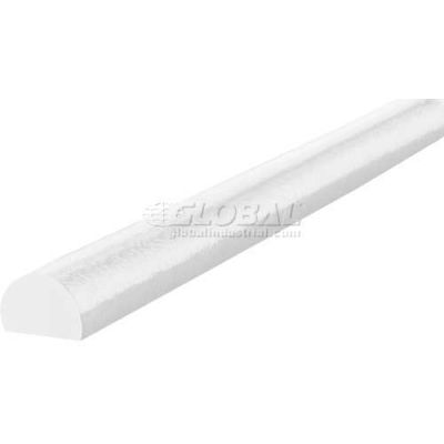 "Knuffi Surface Bumper Guard, Type C, 196-3/4""L x 1-9/16""W, White, 60-6720-1"