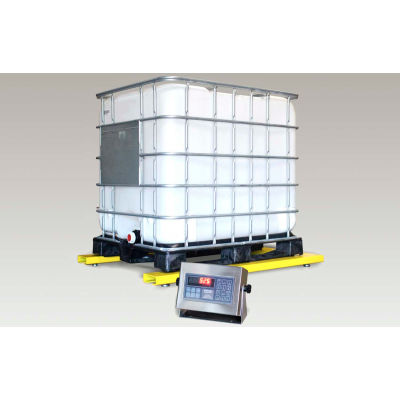 """Pennsylvania Scale U6600 Series Low-Profile Bulk Container Scale, 32""""W x 50""""D Inside Opening"""