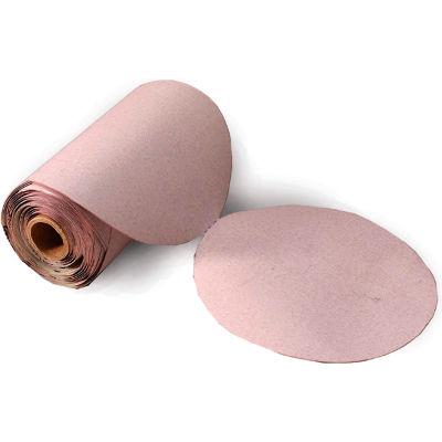 """United Abrasives - Sait 35415 6A Disc Roll 5"""" Dia. 220 Grit Aluminum Oxide - Pkg Qty 400"""