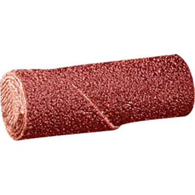 "United Abrasives - Sait 38121 Straight Cartridge Roll 3/4"" x 2"" x 3/16 80 Grit Aluminum Oxide - Pkg Qty 100"