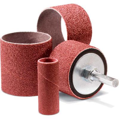 "United Abrasives - Sait 42035 Spiral Band 1-1/2"" x 1"" 80 Grit Aluminum Oxide - Pkg Qty 100"