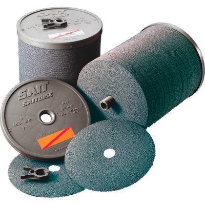 """United Abrasives - Sait 59524 Z Fiber Disc 5"""" x 7/8"""" 24 Grit Zirconium - Pkg Qty 20"""