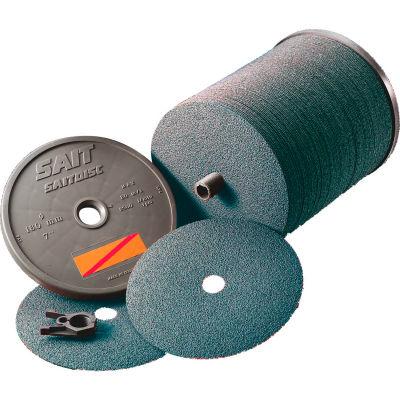 "United Abrasives - Sait 69636 AZ-X Fiber Disc 7"" x 7/8"" 36 Grit Zirconium - Pkg Qty 100"