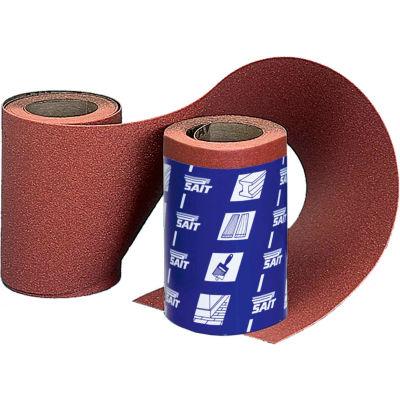 """United Abrasives - Sait 81108 AW-D Paper Roll 4-1/2"""" x 5 Yd 220 Grit Aluminum Oxide - Pkg Qty 10"""