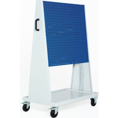 "39x18x63"" Trolley - 2 Perfo Panels each side"