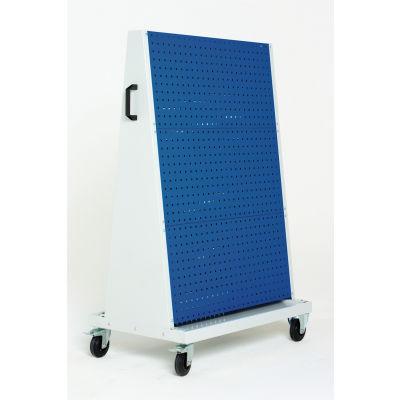 "39x18x63"" Trolley - 3 Perfo Panels each side"