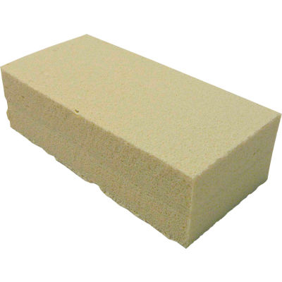 Unger Soot Sponge Soot Master Sponge for Fire/Smoke Damage, Beige, 1 Sponge - SP060