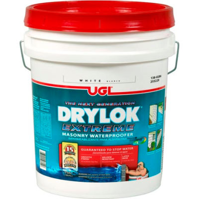 Drylok Extreme Masonry Waterproofer, 5 Gallon Pail, White