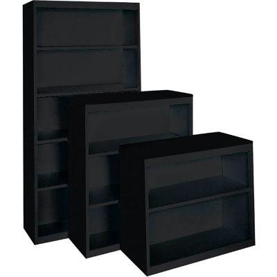 "Bookcase - Adjustable Shelf Series 36"" x 18"" x 52"" Black"