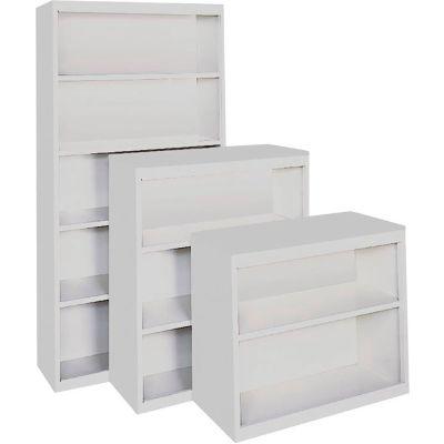 "Bookcase - Adjustable Shelf Series 36"" x 18"" x 52"" Gray"
