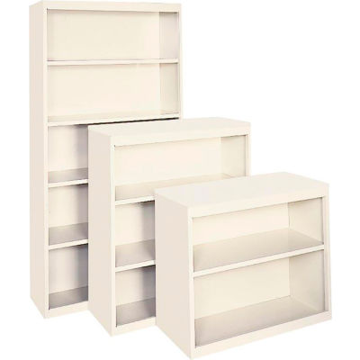 "Bookcase - Adjustable Shelf Series 36"" x 13"" x 84"" Putty"